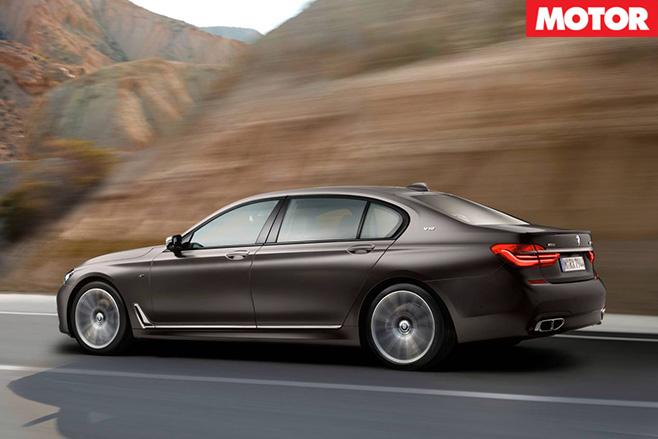 BMW M760Li xDrive rear