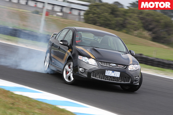 Driving Falcon XR8
