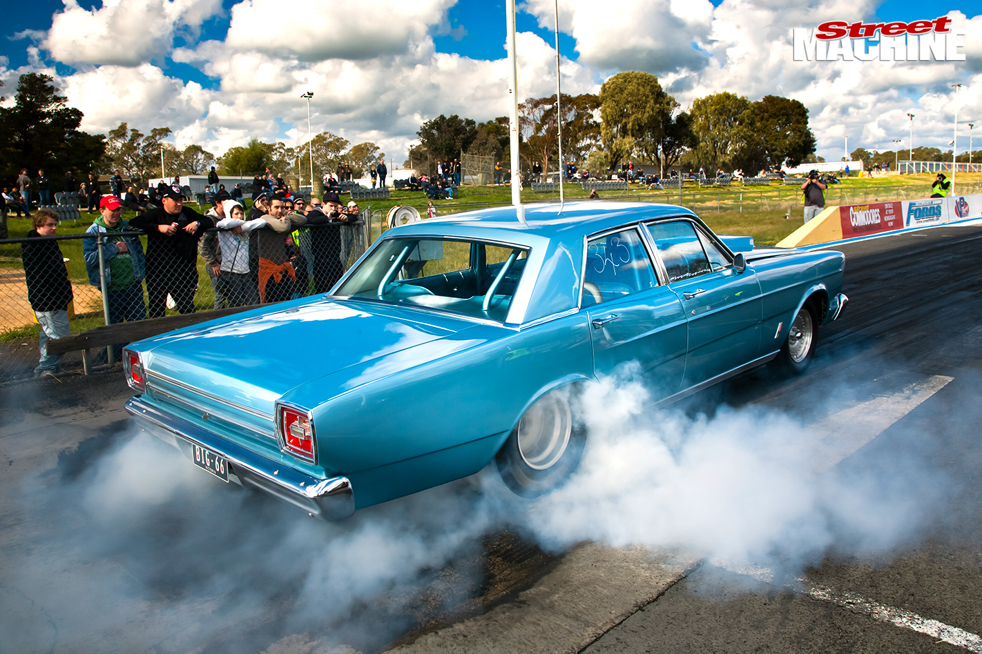 Ford -galaxie -drag