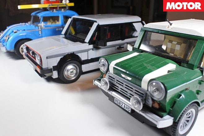 Lego car set