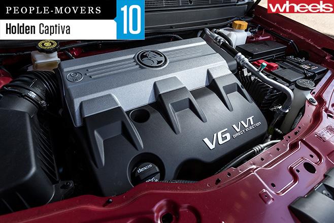 Holden -Captiva -engine