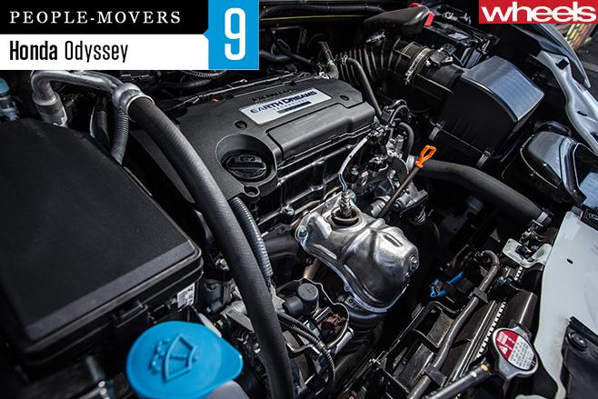Honda -Odyssey -engine