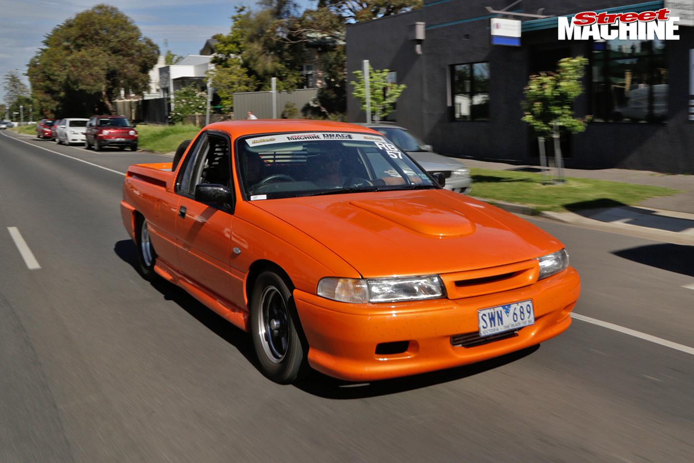 Holden -ute -drag -challenge -onroad -front