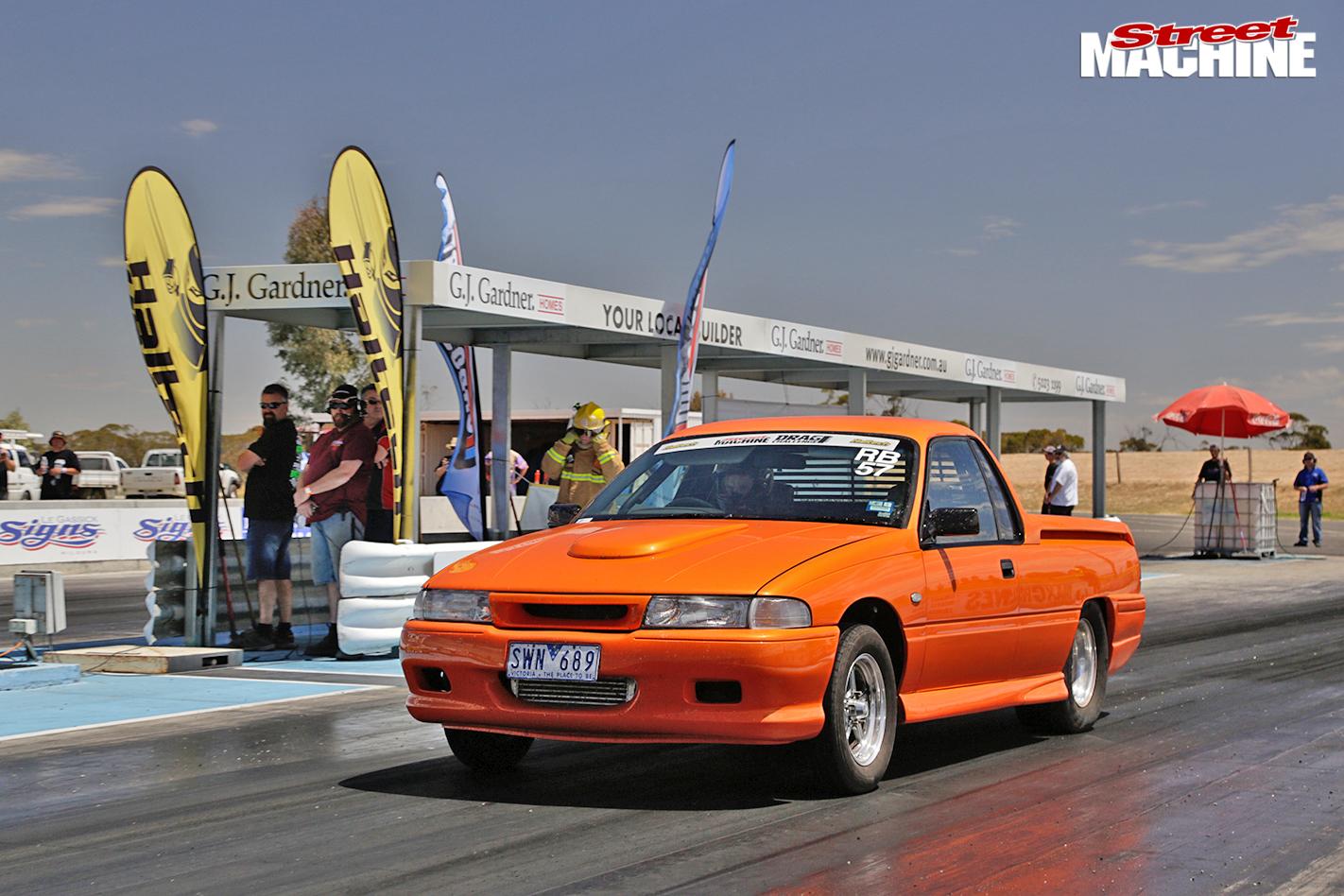 Holden -ute -drag -challenge -grid