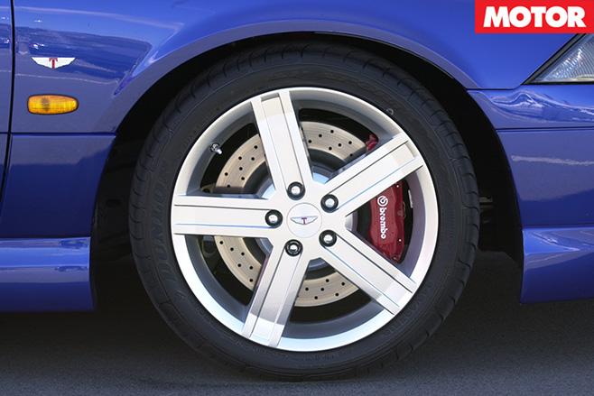 Tickford wheels