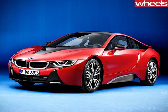 BMW-i 8-front -side