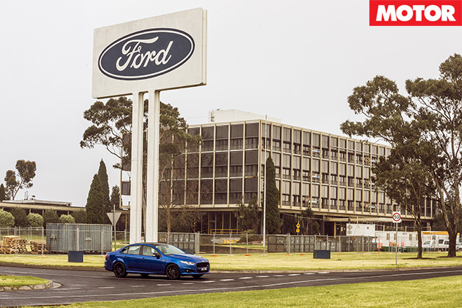 Ford Factory in Broadmeadows
