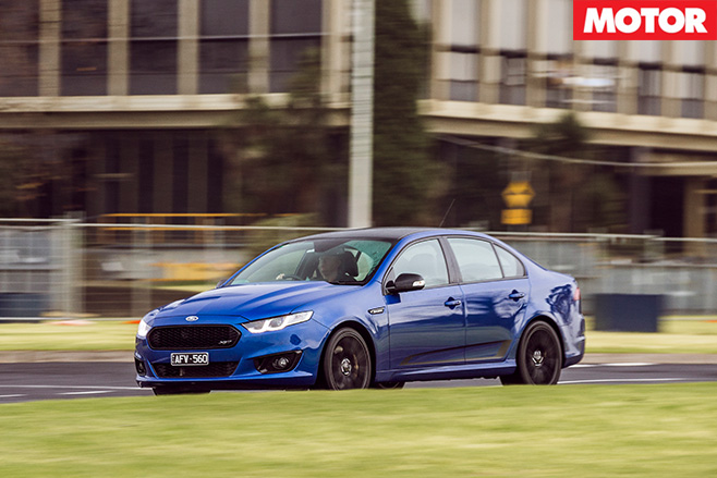 Driving the Ford Falcon