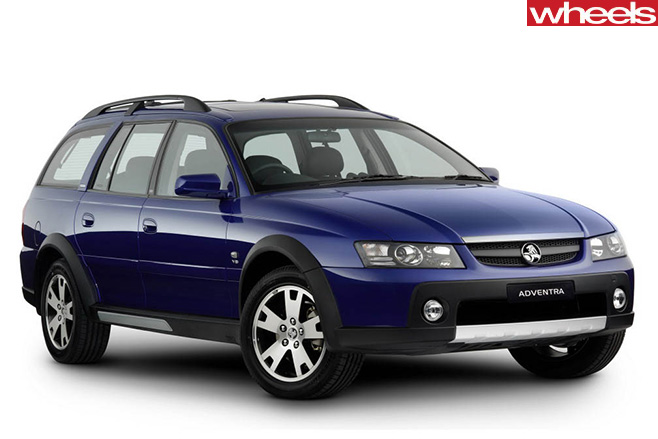 Holden -Adventra -front -side