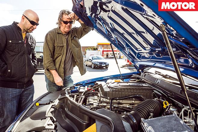 Ford Falcon XR8 Sprint engine