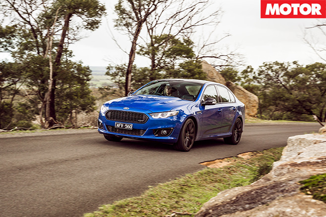 Driving the XR8 Sprint