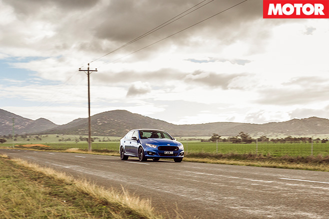 Falcon XR8 sprint highway driving
