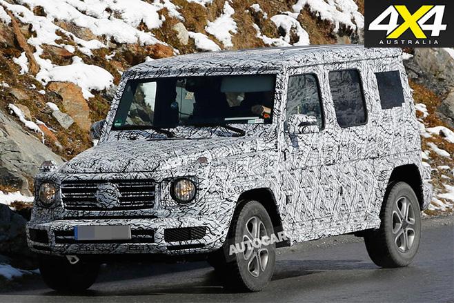 Mercedes-Benz G-Class front