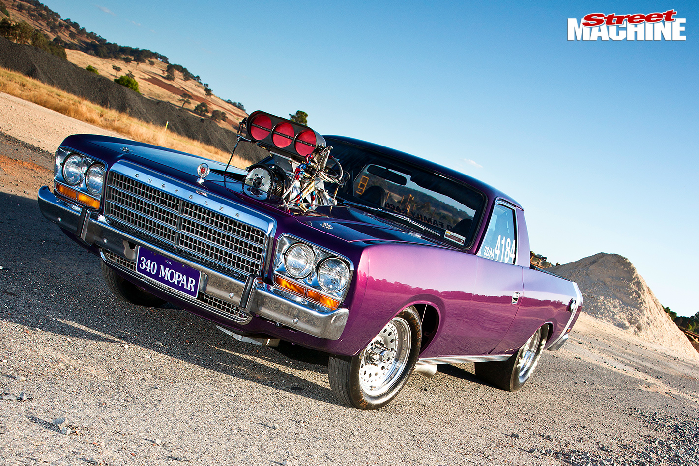 8-SECOND-BLOWN-1973-CHRYSLER-VJ-VALIANT-UTE-front