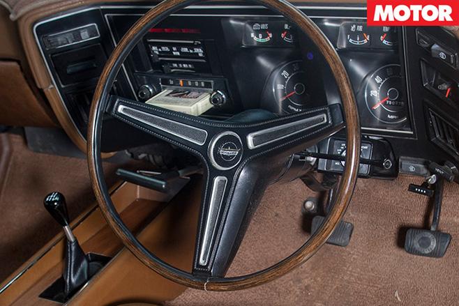 XA Falcon GT Hardtop interior