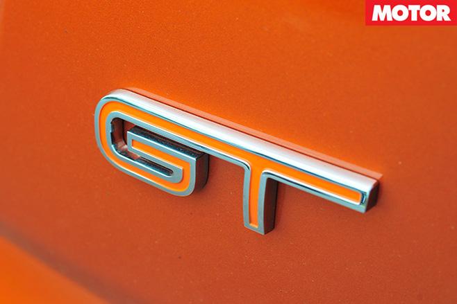 GT badge