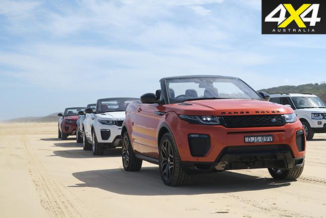 2017Range Rover Evoque Convertible range