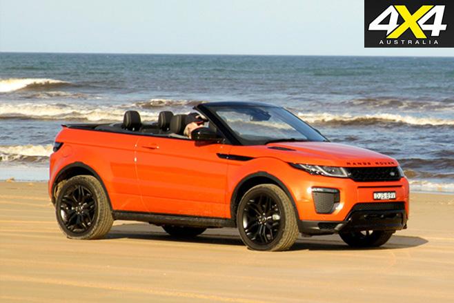 2017 Range -Rover -Evoque -Convertible -driving