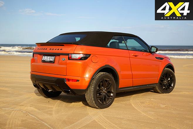 2017-Range -Rover -Evoque -Convertible -rear
