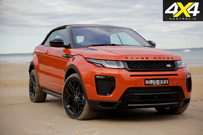 2017-Range -Rover -Evoque -Convertible -front