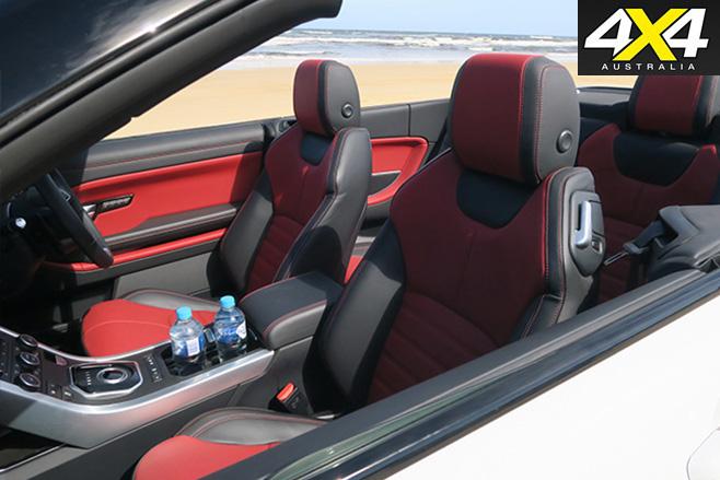 2017-Range -Rover -Evoque -Convertible -interior