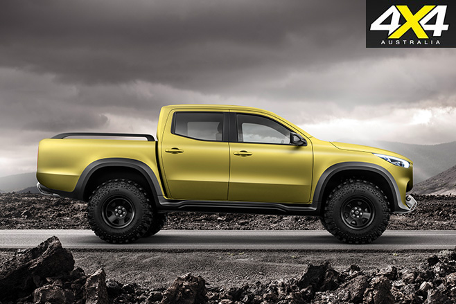 2018-Mercedes-Benz X-Class powerful concept
