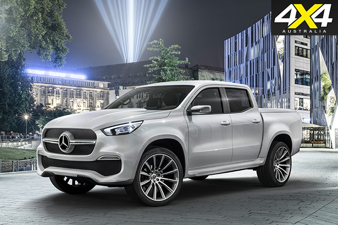 2018-Mercedes-Benz X-Class ute Production model cover