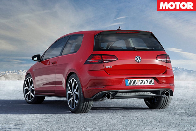 2017 Volkswagen Golf GTI rear