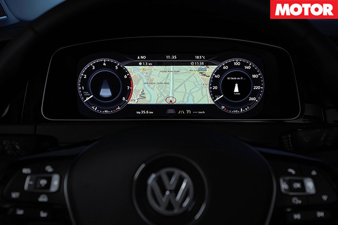 2017 Volkswagen Golf GTI dash