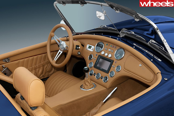 AC-Cobra -interior