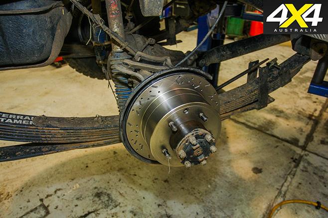 Fitting heavy duty brakes