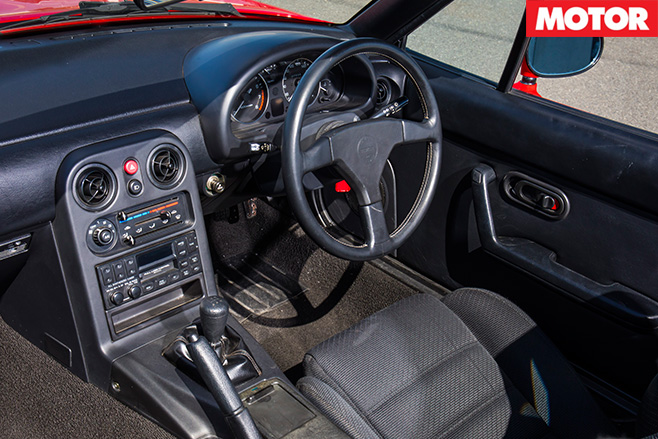 Superb Mazda MX 5 NA Interior Images
