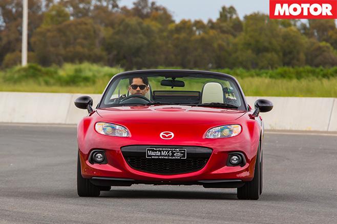 Mazda MX-5 NC front