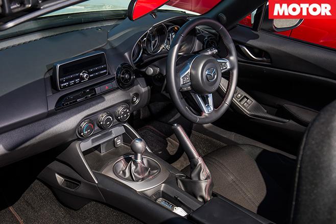 Mazda MX-5 ND interior