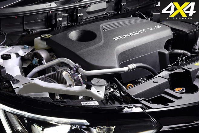 2017 Renault Koleos Intens 4x4 engine