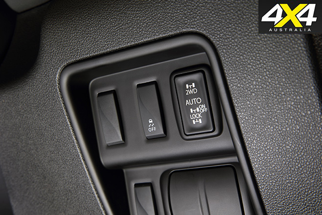 2017 Renault Koleos Intens 4x4 switches