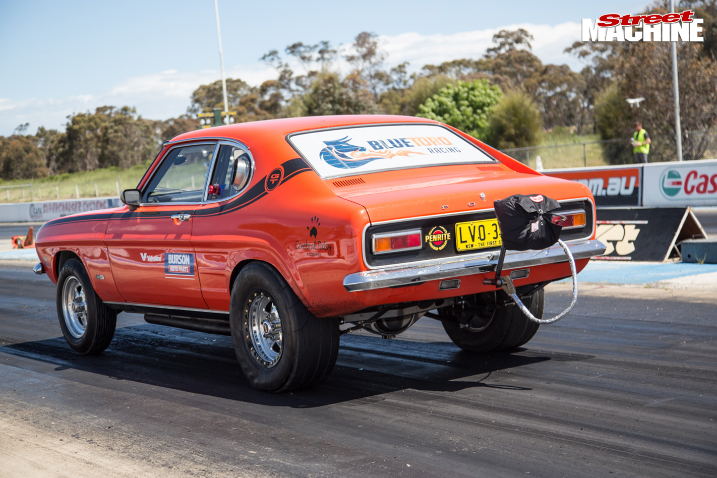 TURBO-LS-FORD-CAPRI-AND-TWIN-TURBO-LS-MITSUBISHI-EXPRESS-VAN-AT-DRAG-CHALLENGE-rear