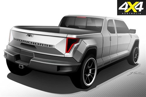 Workhorse -announces -new -'Electric -Pick -up '-concept -W-15-rear