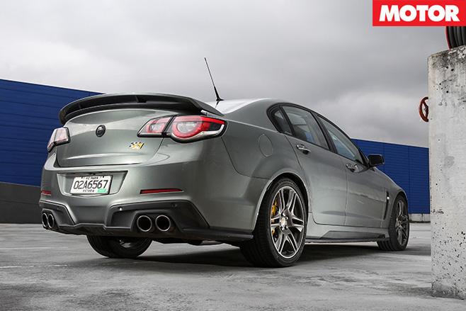 HSV Clubsport R8 Track Edition rear