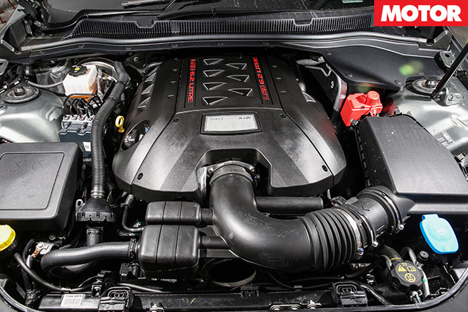 HSV Clubsport R8 Track Edition engine