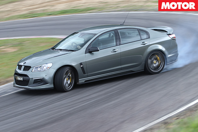 HSV Clubsport R8 Track Edition review -cornering