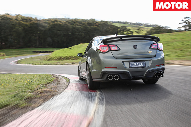 HSV Clubsport R8 Track Edition rear driving -2