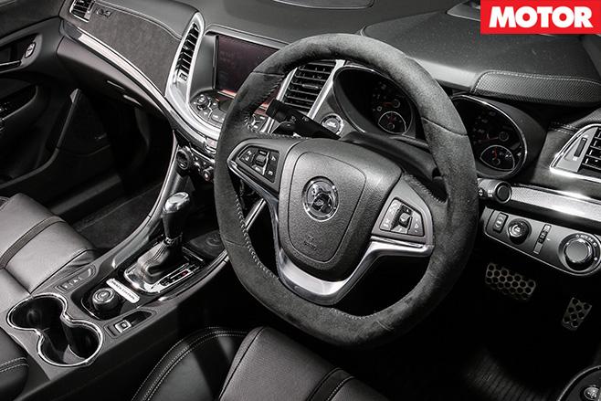 HSV Clubsport R8 Track Edition interior