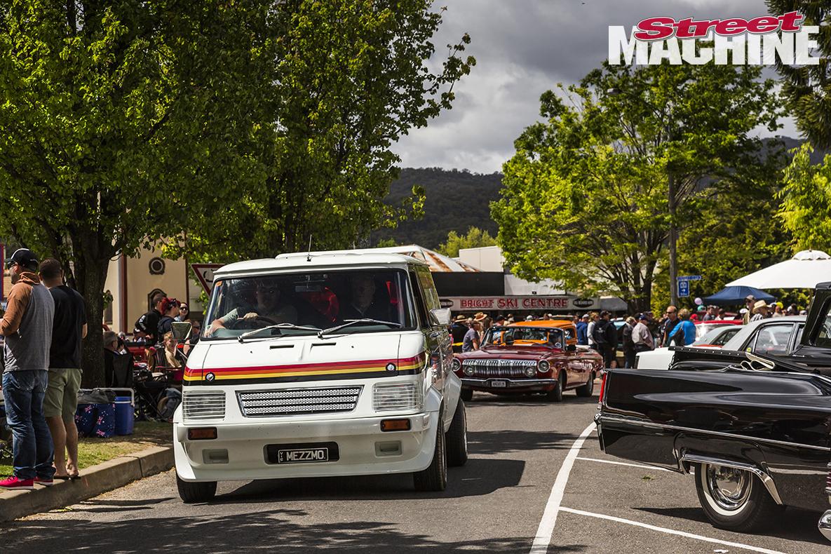 9 Bedford Van Freedom Roller