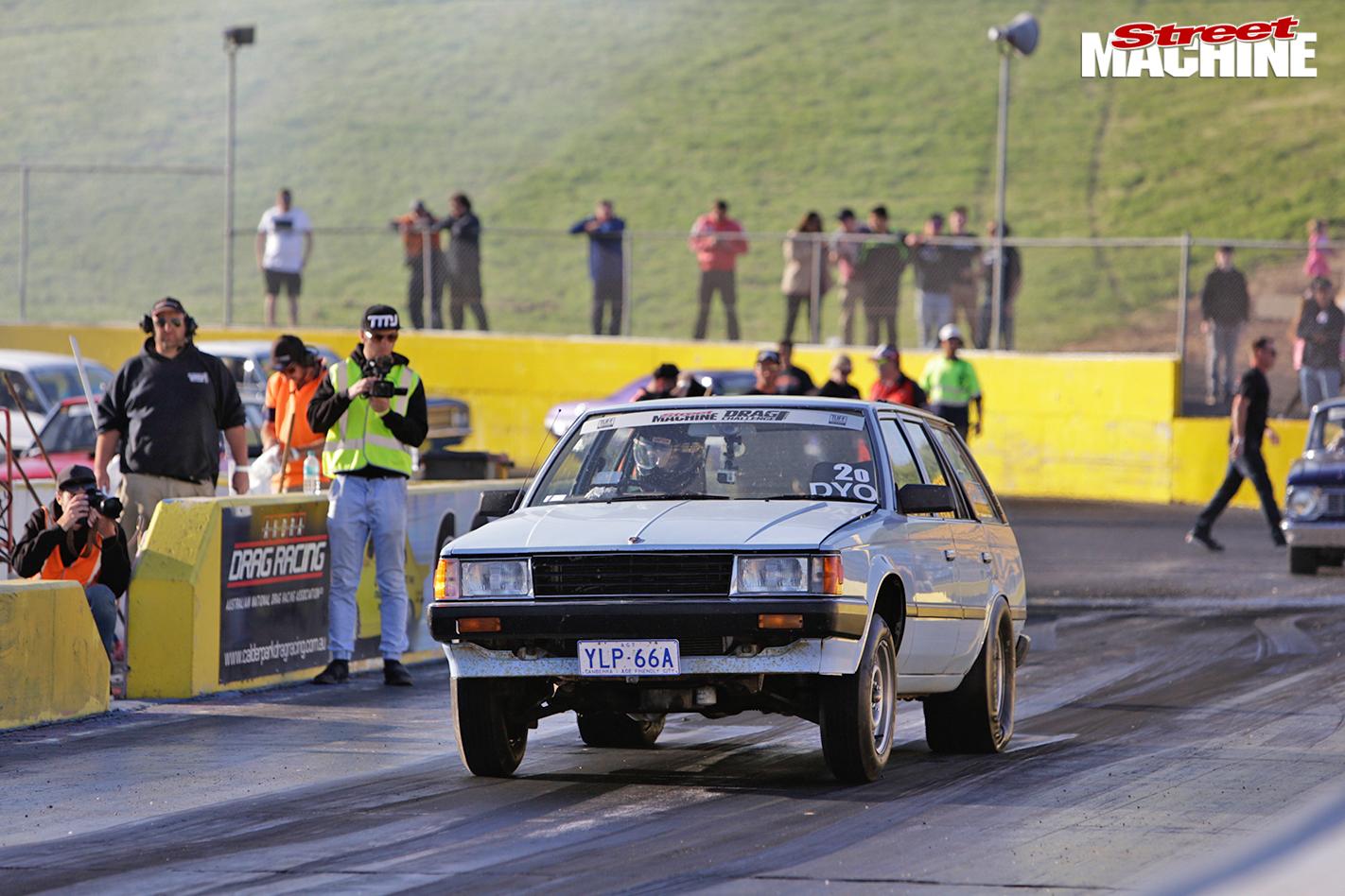 Toyota -corona -drag