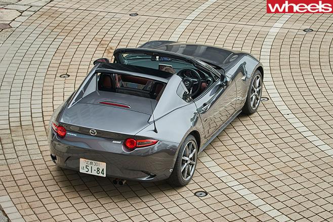 Mazda MX-5 RF roof down