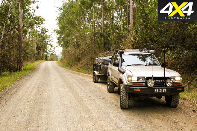 Conondale National Park roads