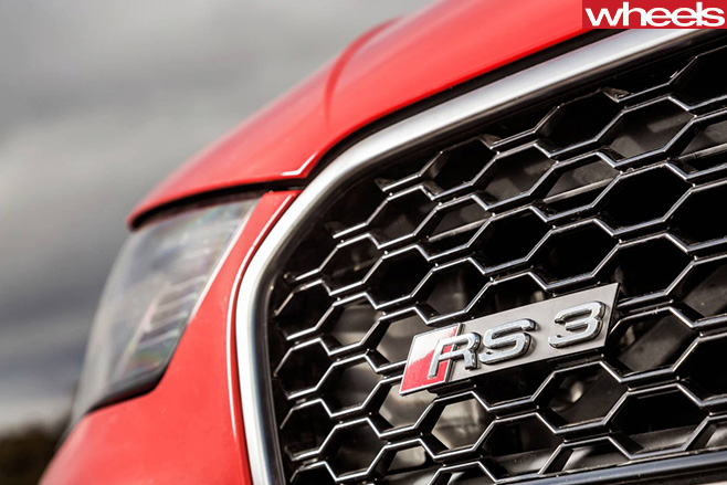 Audi -RS3-grille