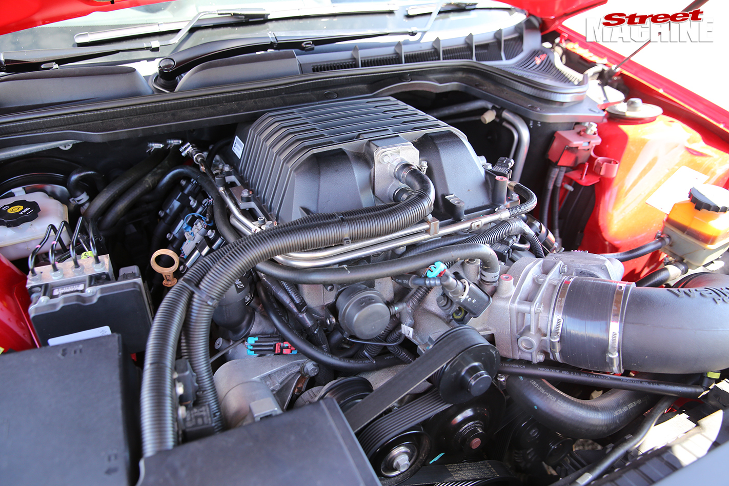 Holden -maloo -engine