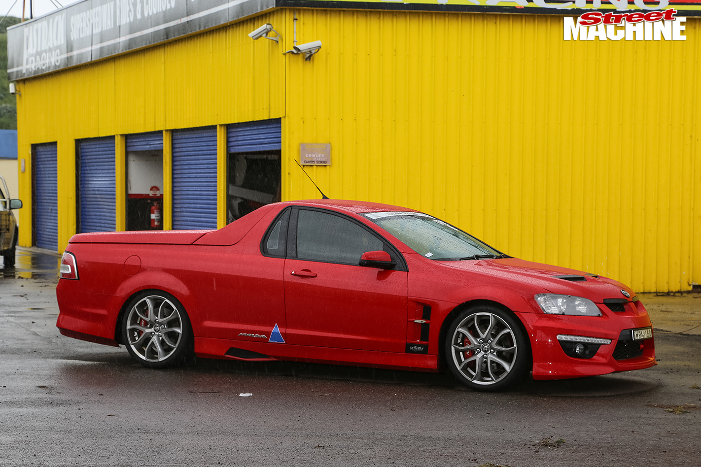 Holden -maloo -ute -side